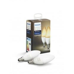 Philips Hue Bulb Dual Pack White Ambiance E14 B39 - 8718696695265
